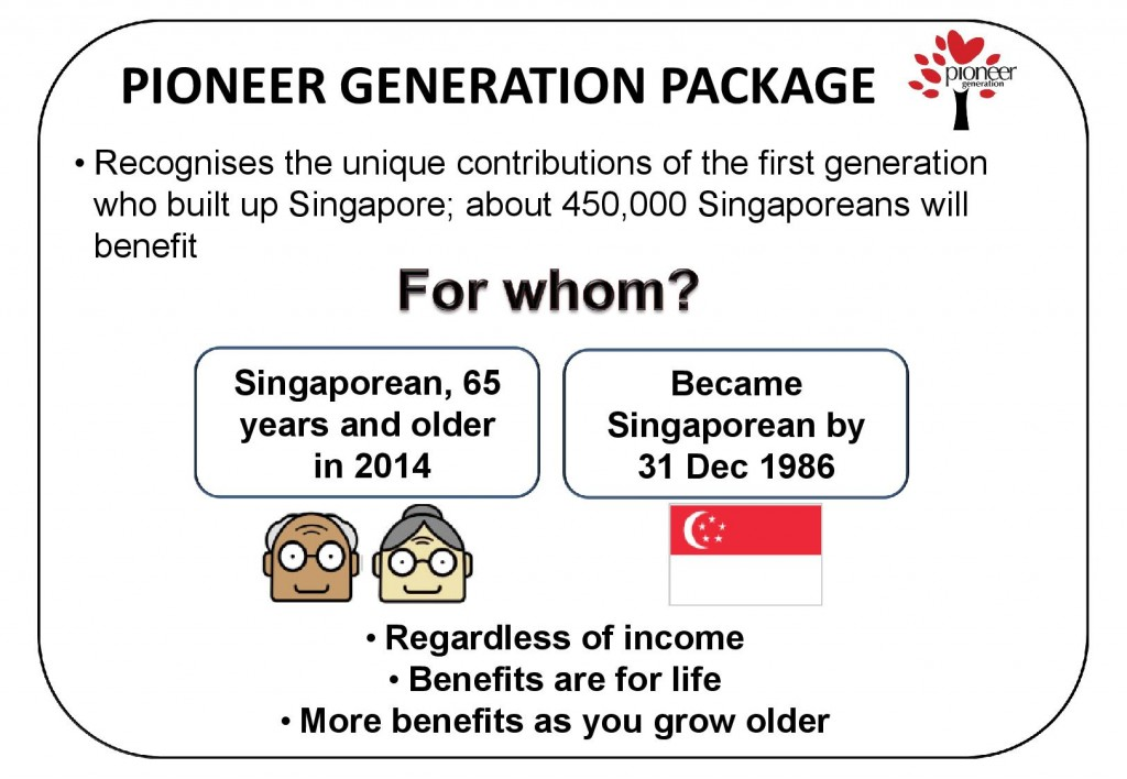 What is the Pioneer Generation package (English)