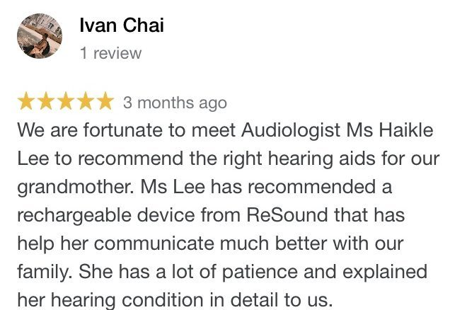 Best hearing centre in Singapore