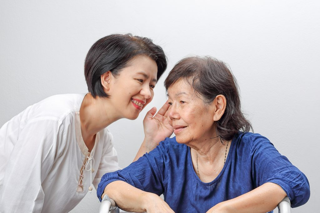 local study dementia hearing loss hearing aid