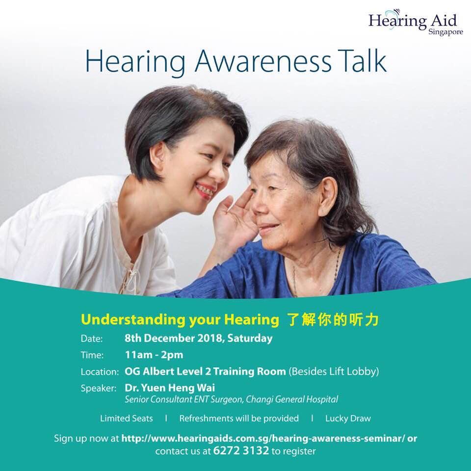 OG hearing awareness talk
