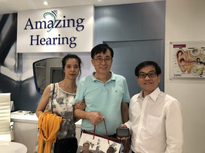 Second Customer fitted with Resound LiNX Quattro 7 rechargeable hearing aids
