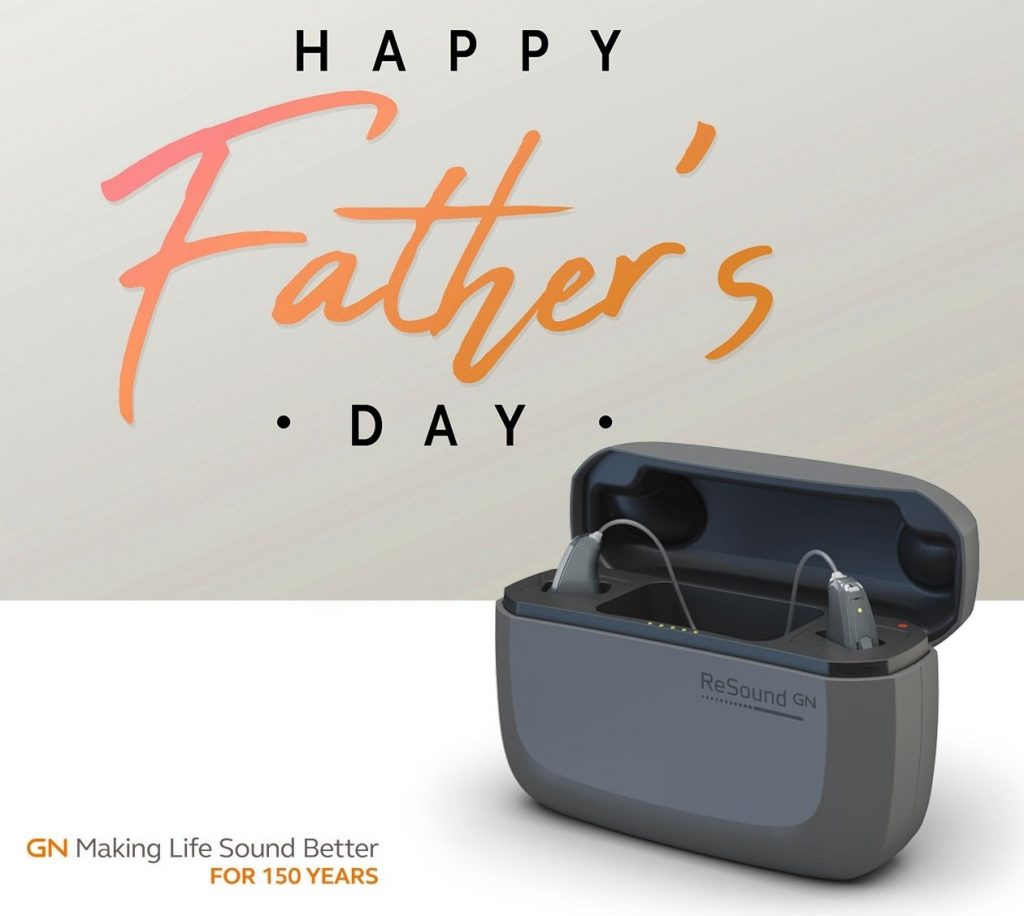 amazing hearing father's day