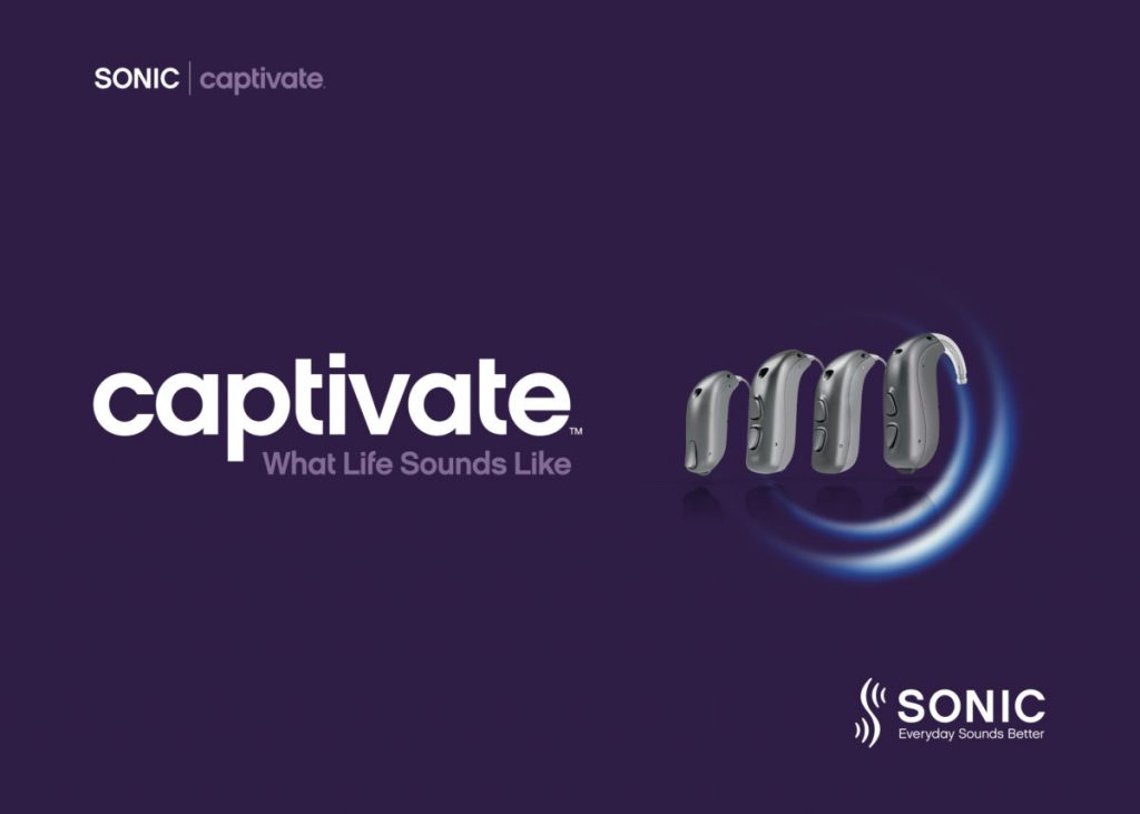 Captivate SONIC rechargeable hearing aids singapore amazing hearing