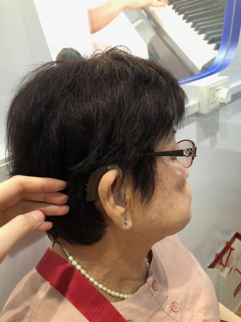 Mdm Chua ENZO superpower hearing aids amazing hearing