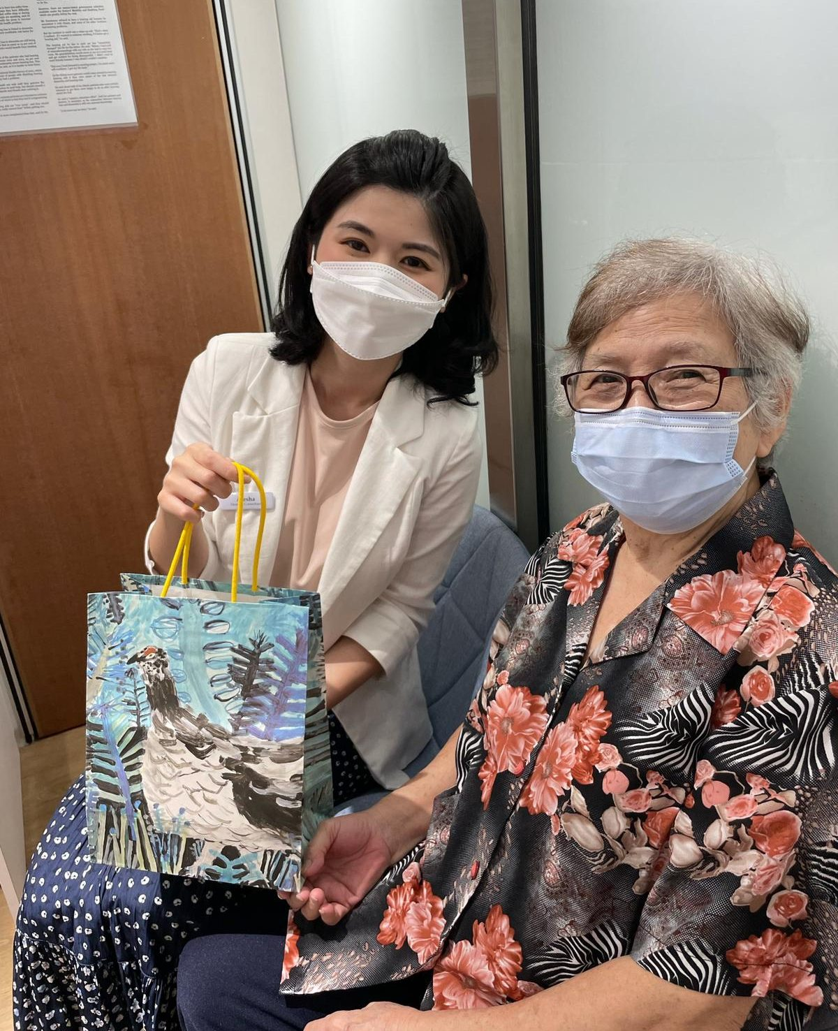 Tiong Bahru hearing aids consultant with patient